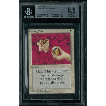 Magic the Gathering Beta Healing Salve BGS 8.5 (8, 9, 9.5, 9.5)
