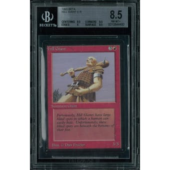 Magic the Gathering Beta Hill Giant BGS 8.5 (8.5, 8.5, 9, 9.5)