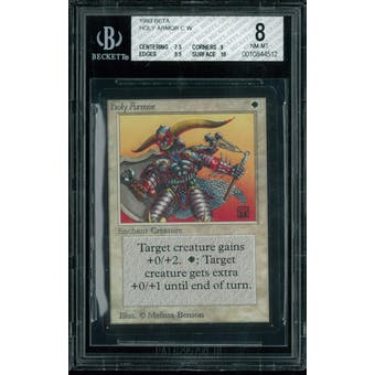 Magic the Gathering Beta Holy Armor BGS 8 (7.5, 9, 9.5, 10)