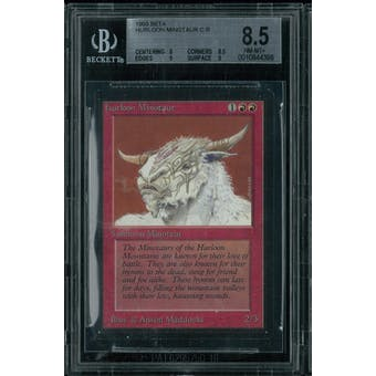 Magic the Gathering Beta Hurloon Minotaur BGS 8.5 (8, 8.5, 9, 9)