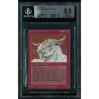 Magic the Gathering Beta Hurloon Minotaur BGS 8.5 (8, 8.5, 9, 9.5)