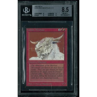 Magic the Gathering Beta Hurloon Minotaur BGS 8.5 (8, 9, 9, 9)