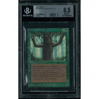 Magic the Gathering Beta Ironroot Treefolk BGS 8.5 (8, 9, 9, 9)