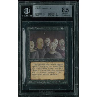 Magic the Gathering Beta Scathe Zombies BGS 8.5 (9.5, 8, 9, 9.5)