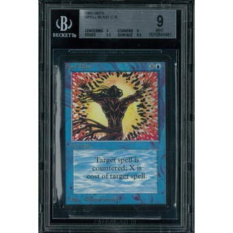 Magic the Gathering Beta Spell Blast BGS 9 (9, 9, 9.5, 9.5)