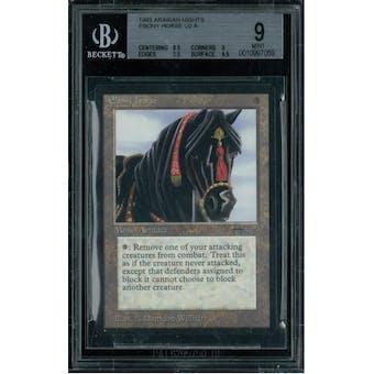Magic the Gathering Arabian Nights Ebony Horse BGS 9 (8.5, 9, 9.5, 9.5)