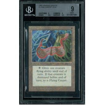 Magic the Gathering Arabian Nights Flying Carpet BGS 9 (9, 9, 9.5, 9.5)