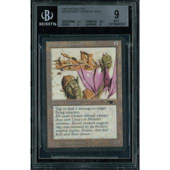 Magic the Gathering Antiquities Grapeshot Catapult BGS 9 (9.5, 8.5, 9, 9)