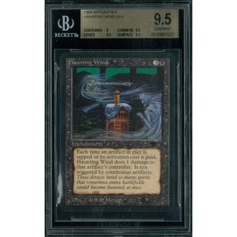 Magic the Gathering Antiquities Haunting Wind BGS 9.5 (9, 9.5, 9.5, 9.5)
