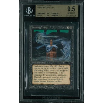 Magic the Gathering Antiquities Haunting Wind BGS 9.5 (9.5, 9, 9.5, 9.5)