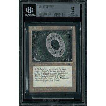 Magic the Gathering Antiquities Millstone BGS 9 (8.5, 9.5, 9, 9.5)