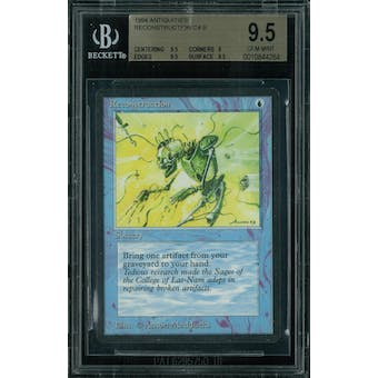 Magic the Gathering Antiquities Reconstruction BGS 9.5 (9.5, 9, 9.5, 9.5)
