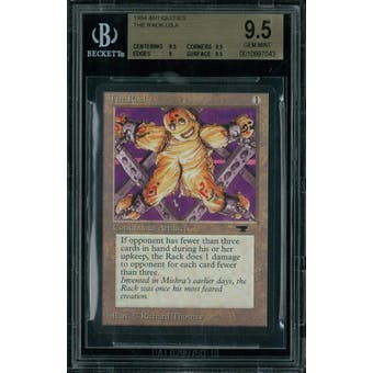 Magic the Gathering Antiquities The Rack BGS 9.5 (9.5, 9.5, 9, 9.5)