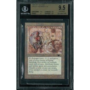 Magic the Gathering Antiquities Urza's Avenger BGS 9.5 (9.5, 9.5, 9, 9.5)