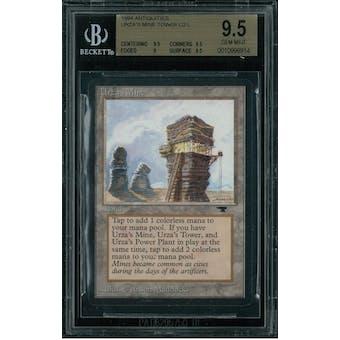 Magic the Gathering Antiquities Urza's Mine (tower) BGS 9.5 (9.5, 9.5, 9, 9.5)