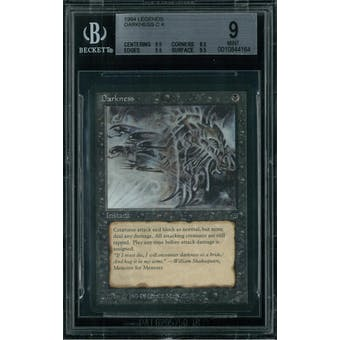 Magic the Gathering Legends Darkness BGS 9 (9.5, 8.5, 9.5, 9.5)