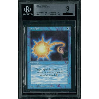 Magic the Gathering Legends Force Spike BGS 9 (9.5, 9, 9, 9.5)