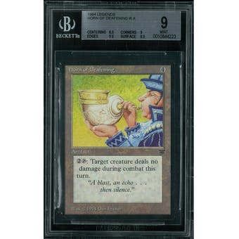 Magic the Gathering Legends Horn of Deafening BGS 9 (8.5, 9, 9.5, 9.5)