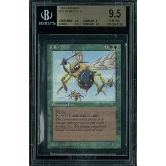 Magic the Gathering Legends Killer Bees BGS 9.5 (9.5, 9, 9.5, 9.5)