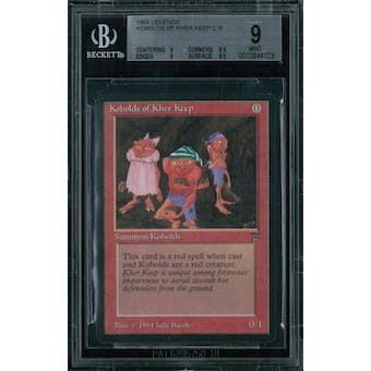 Magic the Gathering Legends Kobolds of Kher Keep BGS 9 (9, 8.5, 9, 9.5)