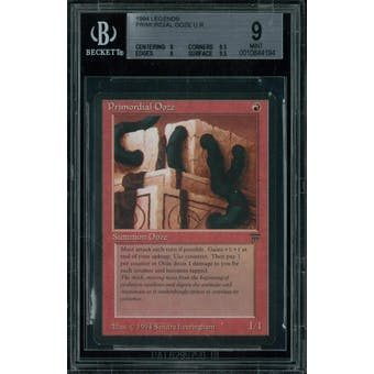 Magic the Gathering Legends Primordial Ooze BGS 9 (9, 9.5, 9, 9.5)