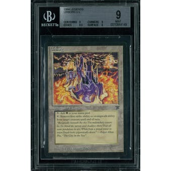 Magic the Gathering Legends Urborg BGS 9 (9, 9, 8.5, 9)