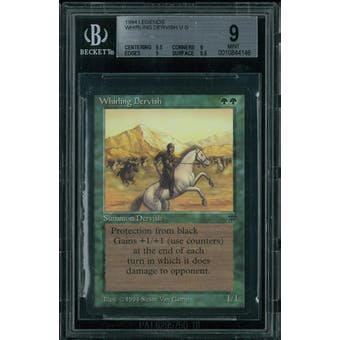 Magic the Gathering Legends Whirling Dervish BGS 9 (9.5, 9, 9, 9.5)