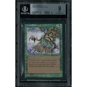 Magic the Gathering Legends Wood Elemental BGS 9 (9, 9, 9, 9.5)