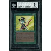 Magic the Gathering Alpha Elvish Archers BGS 8 (9, 8.5, 7.5, 9)