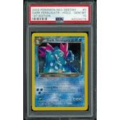 Pokemon Neo Destiny 1st Edition Dark Feraligatr 5/105 PSA 10 GEM MINT
