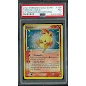 Pokemon EX Team Rocket Returns Torchic Gold Star 108/109 PSA 7