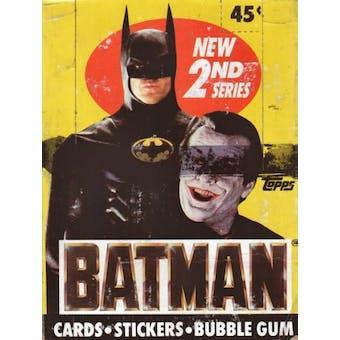 Batman Movie 2nd Series Wax Box (1989 Topps)