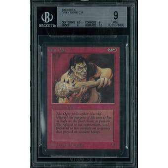 Magic the Gathering Beta Gray Ogre BGS 9 (9.5, 9, 9, 9.5)