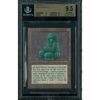 Magic the Gathering Beta Jade Statue BGS 9.5 (10, 9.5, 9, 10)