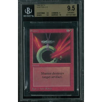 Magic the Gathering Beta Shatter BGS 9.5 (9.5, 9, 9.5, 10)
