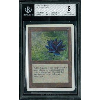 Magic the Gathering Unlimited Black Lotus BGS 8 (9, 9.5, 9.5, 7)
