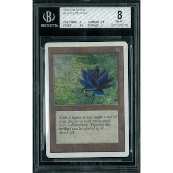 Magic the Gathering Unlimited Black Lotus BGS 8 (9, 9.5, 9.5, 7)