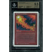 Magic the Gathering Unlimited Red Elemental Blast BGS 9.5 (9.5, 9.5, 9.5, 9)