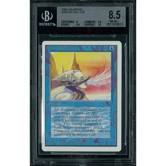 Magic the Gathering Unlimited Siren's Call BGS 8.5 (8, 9.5, 9.5, 10)