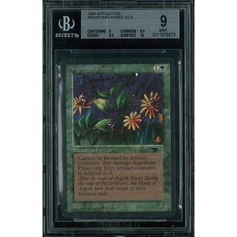 Magic the Gathering Antiquities Argothian Pixies  BGS 9 (9, 8.5, 9.5, 10)