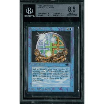 Magic the Gathering Antiquities Energy Flux  BGS 8.5 (8, 8.5, 9, 9.5)