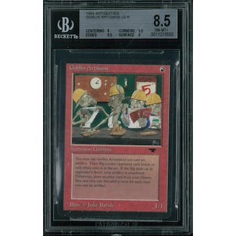 Magic the Gathering Antiquities Goblin Artisans  BGS 8.5 (8, 9.5, 9.5, 9)