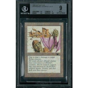 Magic the Gathering Antiquities Grapeshot Catapult  BGS 9 (8.5, 9, 9.5, 9.5)