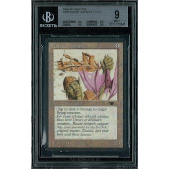 Magic the Gathering Antiquities Grapeshot Catapult  BGS 9 (9.5, 8.5, 9.5, 9.5)