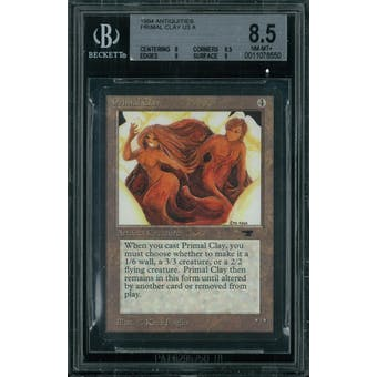 Magic the Gathering Antiquities Primal Clay  BGS 8.5 (8, 8.5, 9, 9)