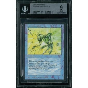 Magic the Gathering Antiquities Reconstruction  BGS 9 (8.5, 9.5, 9, 9)