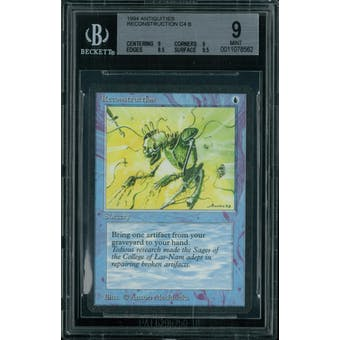 Magic the Gathering Antiquities Reconstruction  BGS 9 (9, 9, 8.5, 9.5)