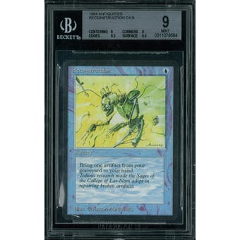 Magic the Gathering Antiquities Reconstruction  BGS 9 (9, 9, 9.5, 9.5)