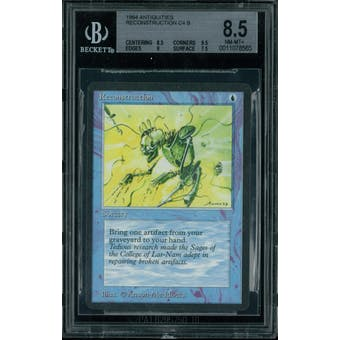 Magic the Gathering Antiquities Reconstruction  BGS 8.5 (8.5, 9.5, 9, 7.5)