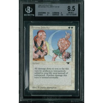 Magic the Gathering Antiquities Reverse Polarity  BGS 8.5 (9.5, 8, 9, 9.5)